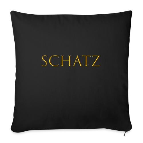 Schatz - Sofakissenbezug 44 x 44 cm