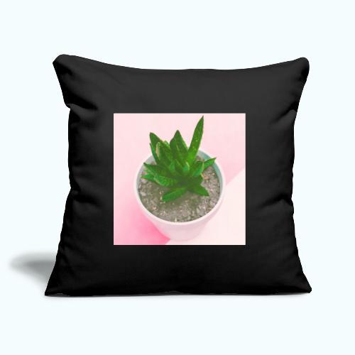 Minimalism plants composition - Sofa pillowcase 17,3'' x 17,3'' (45 x 45 cm)