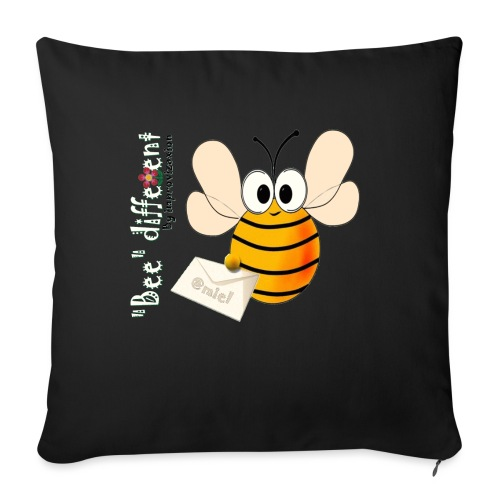 BEE DIFFERENT3 - Housse de coussin décorative 45 x 45 cm