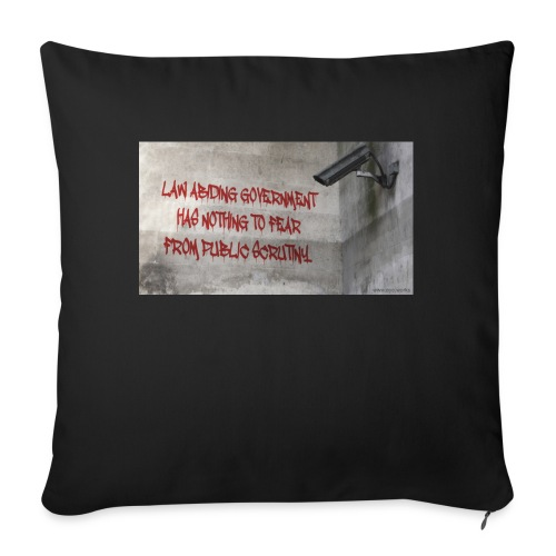 Nothing to Fear - Sofa pillowcase 17,3'' x 17,3'' (45 x 45 cm)