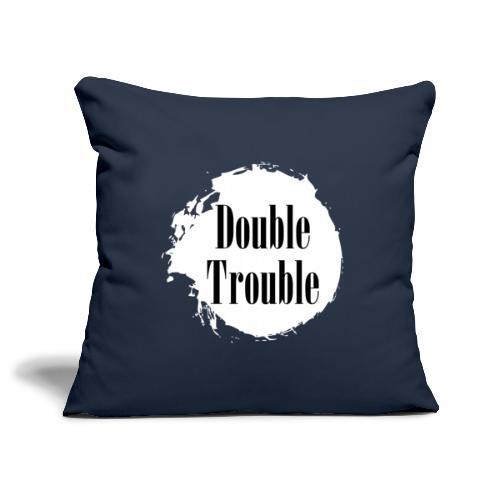 Double trouble - Sofakissenbezug 44 x 44 cm