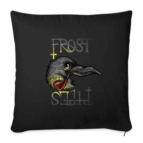 Frost Pipes Crow - Sofa pillowcase 17,3'' x 17,3'' (45 x 45 cm)