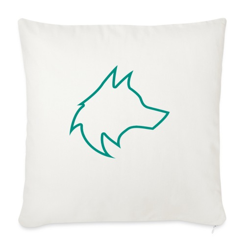 Wolf Pack Logo (NEW) - Sofa pillowcase 17,3'' x 17,3'' (45 x 45 cm)