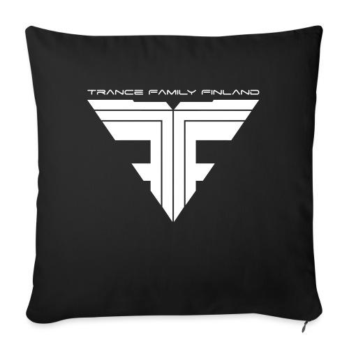 TFF Logo White - Sohvatyynyn päällinen 45 x 45 cm