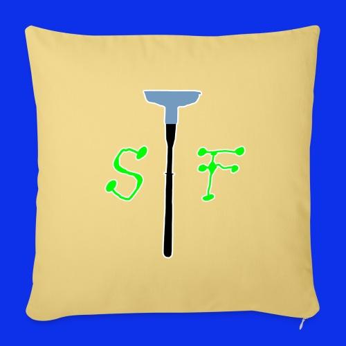 SpinnerFox logo - Soffkuddsöverdrag, 45 x 45 cm