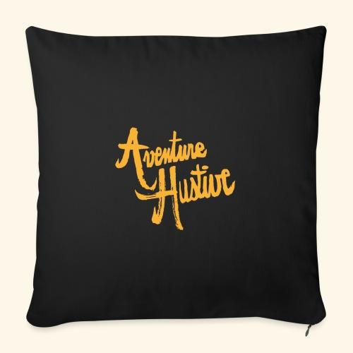 AventureHUstive - Housse de coussin décorative 45x 45cm