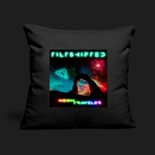 TiltShifted - Neon Traveler - Sohvatyynyn päällinen 45 x 45 cm