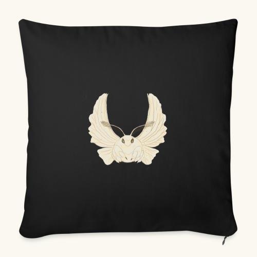 Papillon de nuit - Housse de coussin décorative 45x 45cm