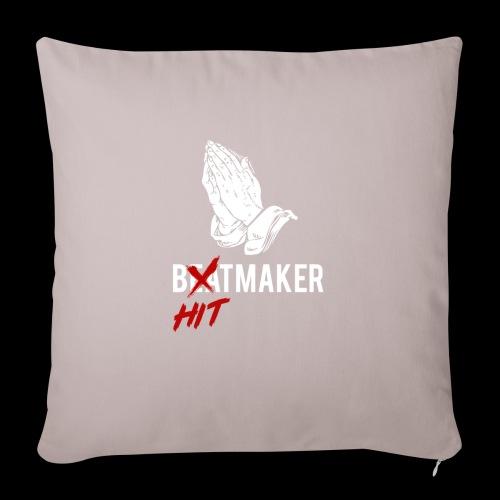 HitMaker Blanc - Housse de coussin décorative 45x 45cm