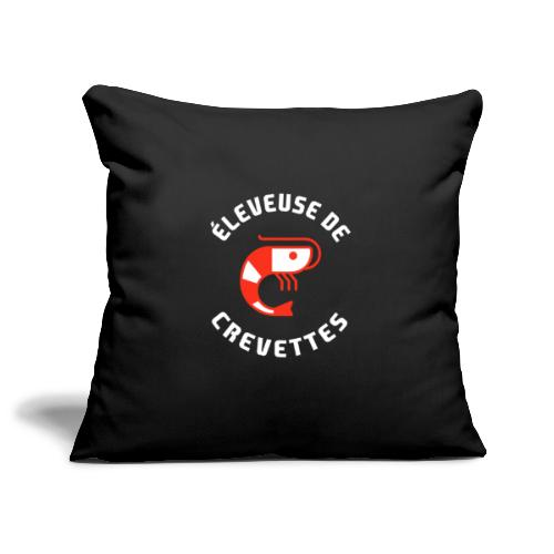 ÉLEVEUSE DE CREVETTES CRS - Housse de coussin décorative 45x 45cm