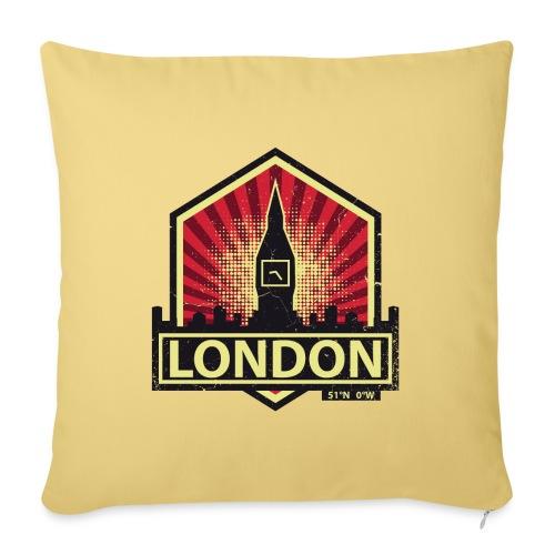 London, England - Sofa pillowcase 17,3'' x 17,3'' (45 x 45 cm)