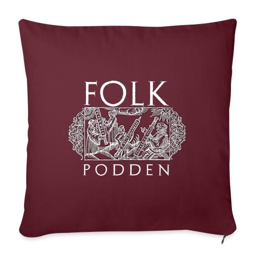 Folkpodden - Black Collection - Soffkuddsöverdrag, 45 x 45 cm