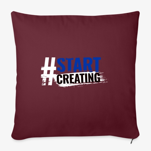 #STARTCREATING - Sofa pillowcase 17,3'' x 17,3'' (45 x 45 cm)