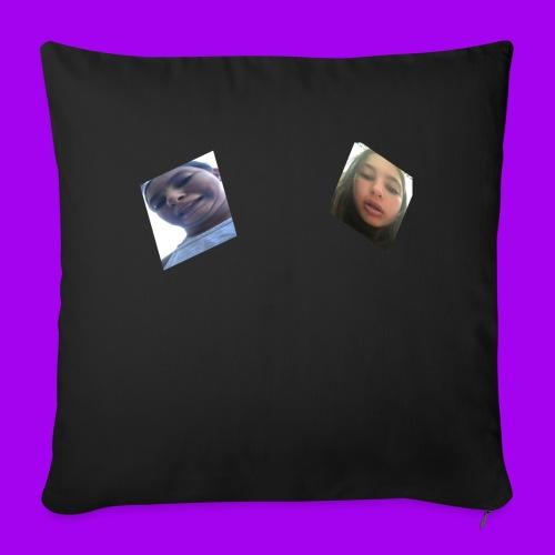 FAT BOOBS - Sofa pillowcase 17,3'' x 17,3'' (45 x 45 cm)