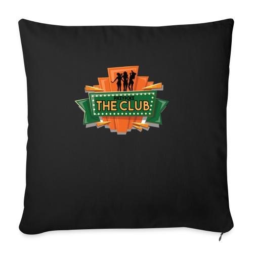 pikeypokeLogo - Sofa pillowcase 17,3'' x 17,3'' (45 x 45 cm)