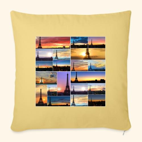 Levers de soleil à Paris - Housse de coussin décorative 45x 45cm