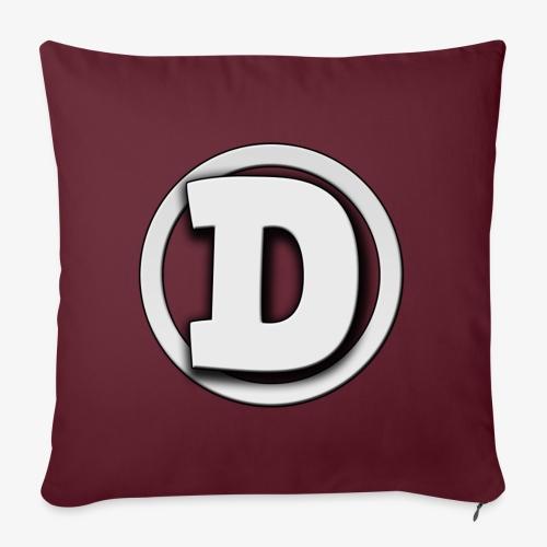 Drimse Logo - Soffkuddsöverdrag, 45 x 45 cm
