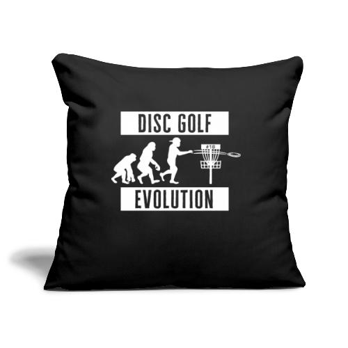 Disc golf - Evolution - White - Sohvatyynyn päällinen 45 x 45 cm