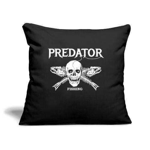 Predator Fishing T-Shirt - Sofakissenbezug 44 x 44 cm