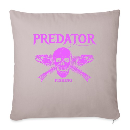Predator fishing pink - Sofakissenbezug 44 x 44 cm