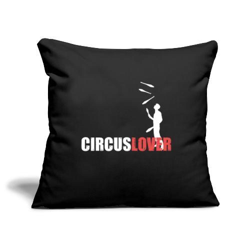 Circuslover 5 clubs - Copricuscino per divano, 45 x 45 cm