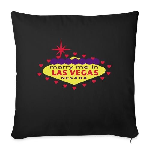 create your own las vegas wedding product - Sofa pillowcase 17,3'' x 17,3'' (45 x 45 cm)