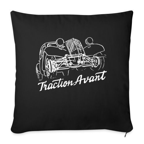 Traction Avant - Sofa pillowcase 17,3'' x 17,3'' (45 x 45 cm)