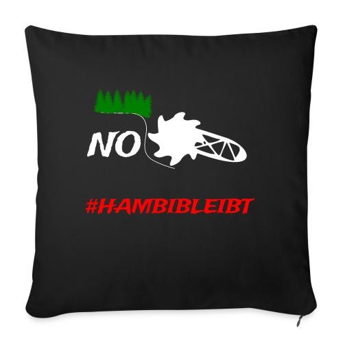 #hambibleibt - Sofakissenbezug 44 x 44 cm