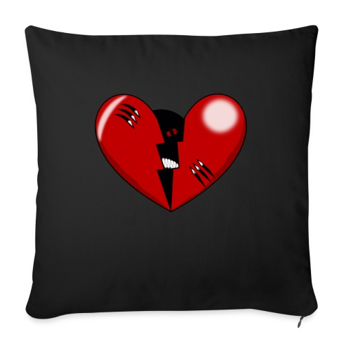 CORAZON1 - Sofa pillowcase 17,3'' x 17,3'' (45 x 45 cm)