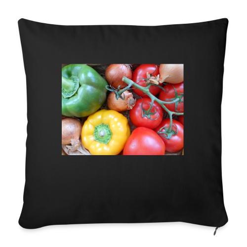 légumes - Housse de coussin décorative 45x 45cm
