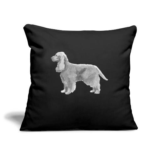 English cocker spaniel golden - Pudebetræk 45 x 45 cm