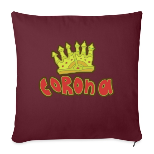 corona - Soffkuddsöverdrag, 45 x 45 cm
