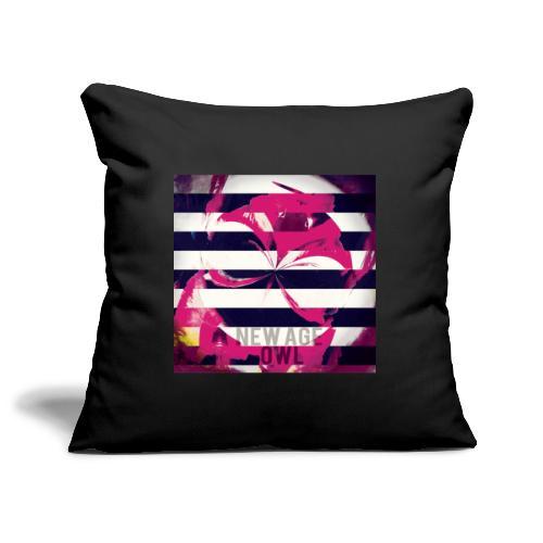 New age owl - Sofa pillowcase 17,3'' x 17,3'' (45 x 45 cm)