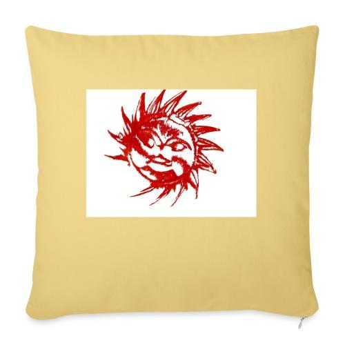 A RED SUN - Sofa pillowcase 17,3'' x 17,3'' (45 x 45 cm)