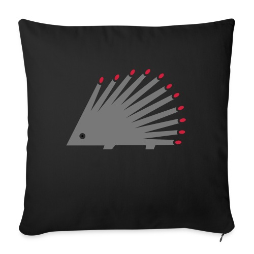 Hedgehog - Sofa pillowcase 17,3'' x 17,3'' (45 x 45 cm)