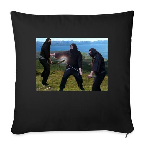 Chasvag ninja - Sofaputetrekk 45 x 45 cm