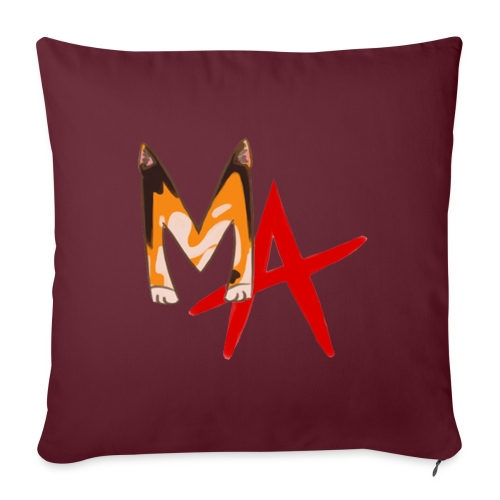 Mog Anarchy Logo - Sofa pillowcase 17,3'' x 17,3'' (45 x 45 cm)