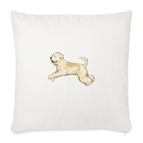 Wheaten Terrier Diamonds 4 - Sofa pillowcase 17,3'' x 17,3'' (45 x 45 cm)