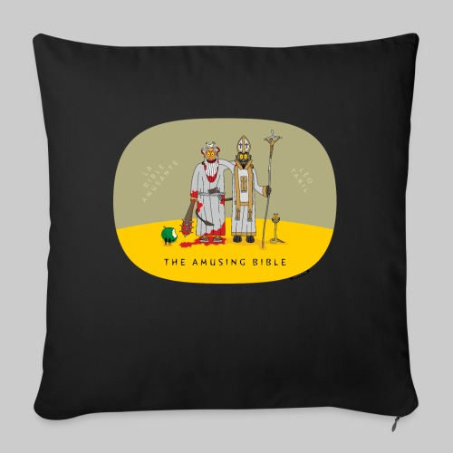 VJocys Devil Pope - Sofa pillowcase 17,3'' x 17,3'' (45 x 45 cm)