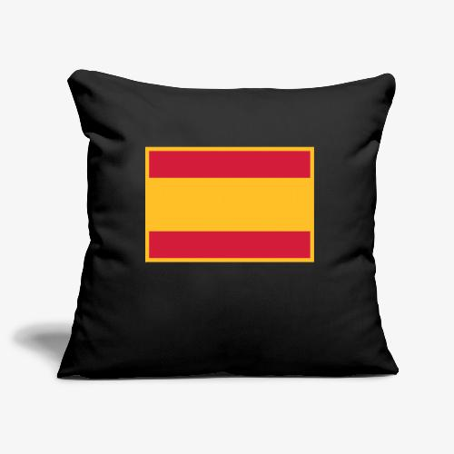 Banderola española - Funda de cojín, 45 x 45 cm