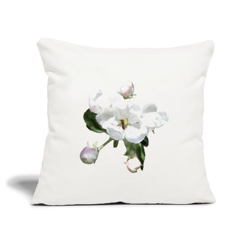 Omenankukka ja kukkakärpänen - Sohvatyynyn päällinen 45 x 45 cm