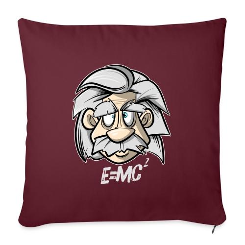 Albert Einstein E=MC2 - Sofakissenbezug 44 x 44 cm