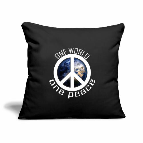 One World, One Peace - Sofakissenbezug 44 x 44 cm