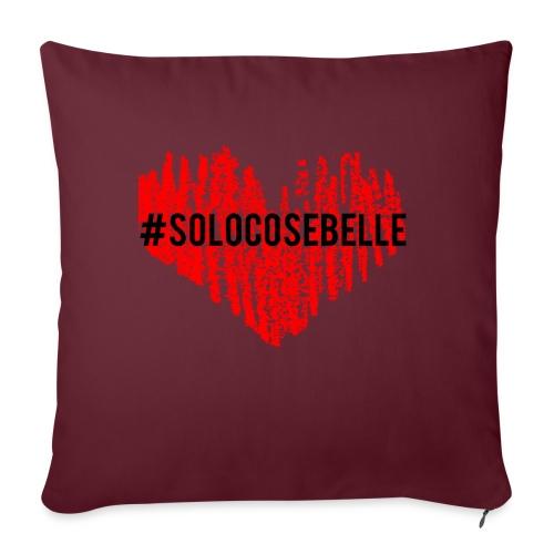 #solocosebelle - Copricuscino per divano, 45 x 45 cm
