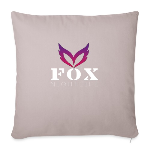 Vrienden van Fox Nightlife - Sierkussenhoes, 45 x 45 cm