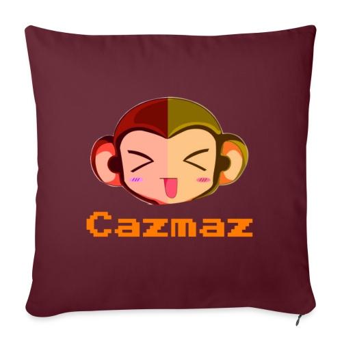 Cazmaz Logo Tee png - Sofa pillowcase 17,3'' x 17,3'' (45 x 45 cm)