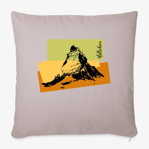 Matterhorn - Sofa pillowcase 17,3'' x 17,3'' (45 x 45 cm)