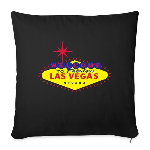Create your own Las Vegas t-shirt or souvenirs - Sofa pillowcase 17,3'' x 17,3'' (45 x 45 cm)