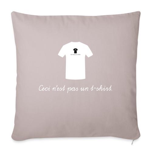 Ceci n'est pas un t-shirt. - Sofakissenbezug 44 x 44 cm