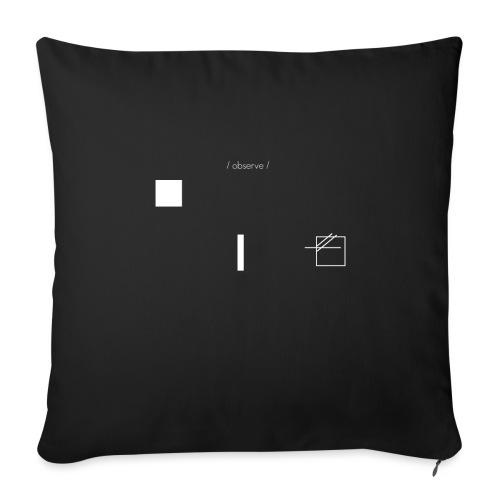 /obeserve/ sweater (M) - Sofaputetrekk 45 x 45 cm